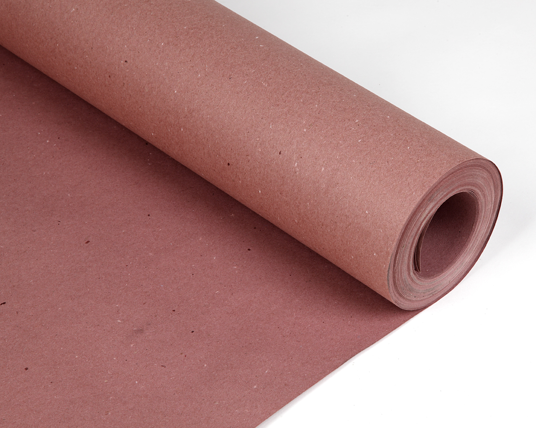 rosin paper Red rosin paper is a high quality, single-ply sheathing paper, which is widely used in built-up roofing systems as a first layer protective barrier.