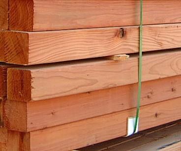 Alaskan Yellow Cedar Rough Earance Grade 6x6 10