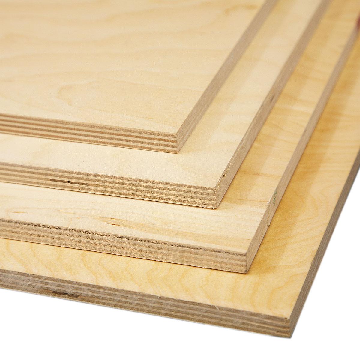 3 4 4x8 Maple Plywood 1pf 18mm
